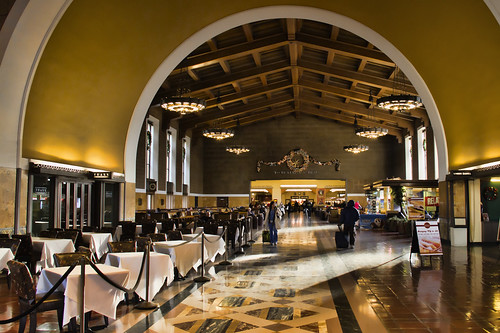 Union Station waiting room