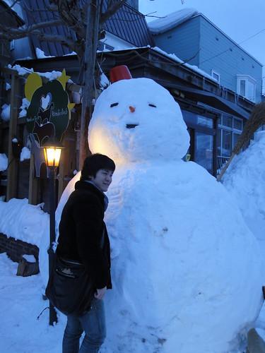 雪だるま!!