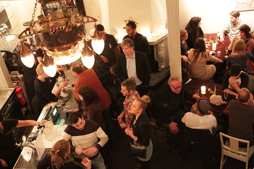 opening party at Cafeteatret