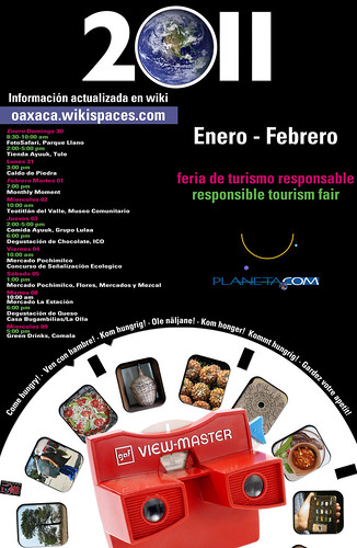Haz Favorito: Come Hungry to the 2011 Responsible Tourism Fair (Oaxaca)