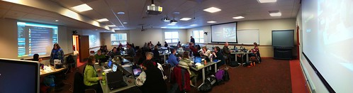 Our Missoula Classroom: 4 Screens!