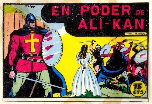 008-El Guerrero del antifaz nº 2 primera edicion-portada