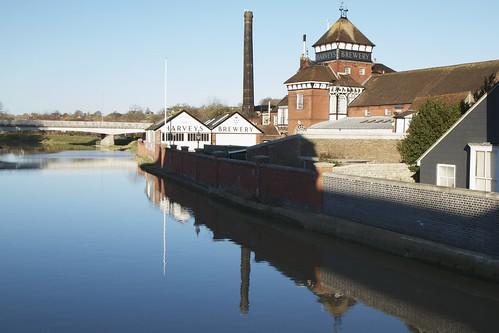 Harveys brewery - Lewes