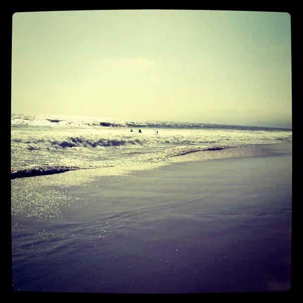 天 海 沙滩 亮晶晶~
