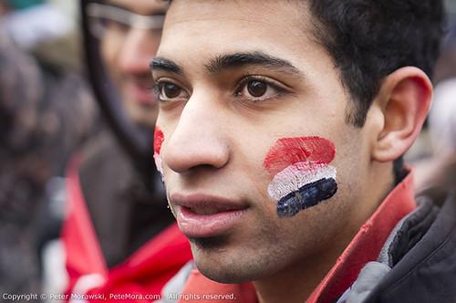 2011 Egypt: Cheek Flag
