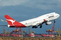 Qantas 747-400 VH-OJD