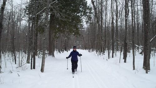Skiing Jay Cooke