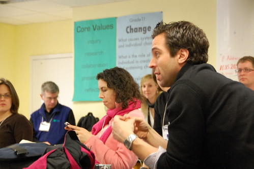 George Couros, by Kevin Jarrett