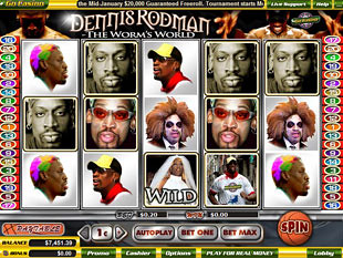 Dennis Rodman slot game online review