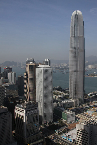 IFC Two, now the second tallest building in Hong Kong
