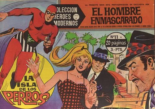 031-El hombre enmascarado-nº11- Coleccion Heroes Modernos