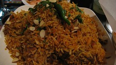 goat hyderabadi biryani