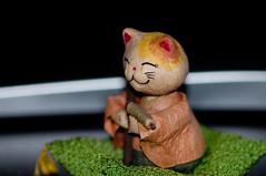 Musician cat (J. E. Gonzalez) Tags: portrait musician macro closeup cat nadia doll dolls handmade nikkormicro105mmf28 micro105mm