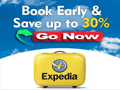 Expedia book and early save deals
