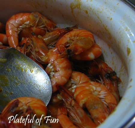 Shrimps with Butter and Garlic