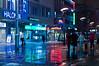 50/50 Day 34 (Mazelo) Tags: street city winter people snow night suomi finland 50mm prime lights nikon colorful neon centrum jyväskylä 5050 d90 kauppakatu project50 twittographers