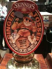 Ginger Tosser (wonker) Tags: art beer illustration design ginger ale clip pump list brewery pint tosser bitter skinners alcahol pumpclip gingertosser