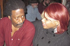 Leia & Clarke Peters (thehallspace) Tags: trip vacation black celebrity canon photo louisiana couple married african neworleans husband american wife actor casual ethnic hbo thewire xsi weekendgetaway treme bigchief amatuerphotography clarkepeters lesterfreemon pendavisphotography