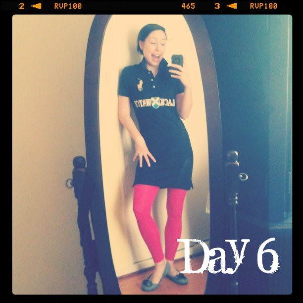 February Tights Challenge:Day 6: Raving Polo Match?