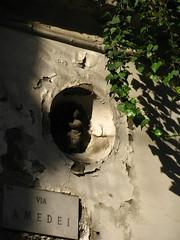 Via Amedei, Milano, febbraio 2011. (B Plessi) Tags: milan italia milano via italie amedei