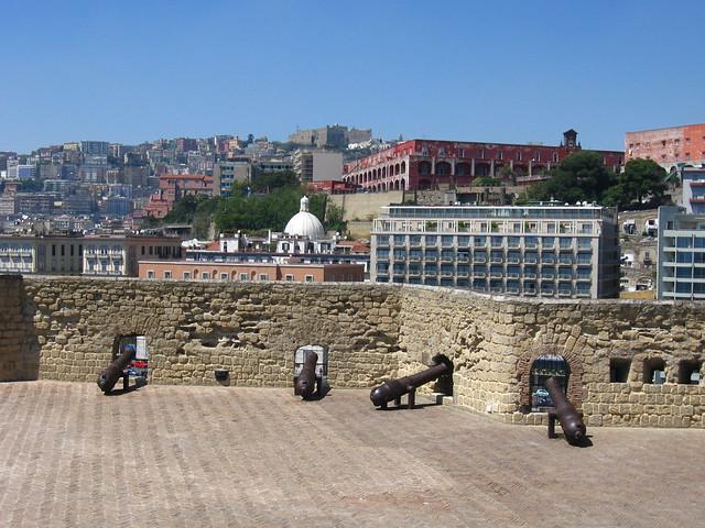 卵城からの眺めのフリー写真素材