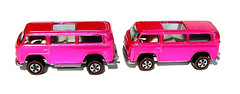 Redline Hot Wheels Beach Bombs, side by side