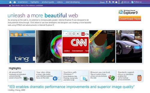 beautyoftheweb.com - IE9RC