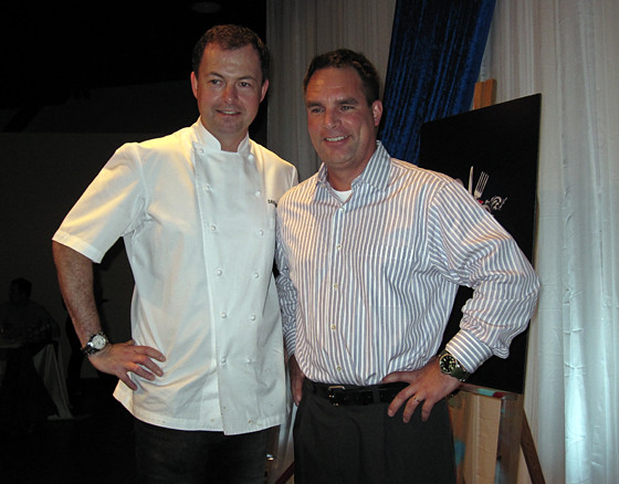 Chef David Hawksworth and Nick Relph