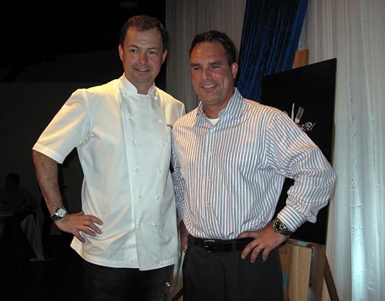 Chef David Hawksworth and Nick Relph