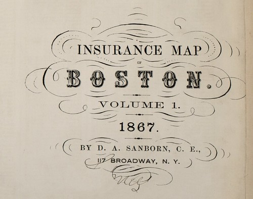 Boston, Massachusetts 1867