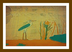 Sacred (BedBrochFlick) Tags: art ancient egypt nile ibis papyrus
