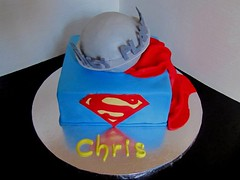 Superman Birthday Cake!!! (Cakes Infinity (Jessica)) Tags: comic superman superhero dailyplanet
