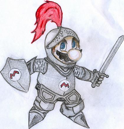 Шляхетны рыцар Супер Марыё