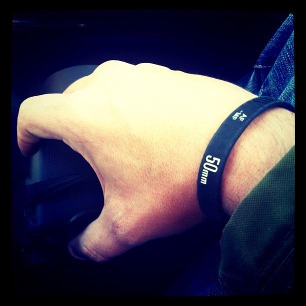 Yehh my 50mm bracelet :)
