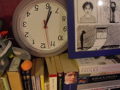 Broken Clock (Ida Doran) Tags: clock bedroom harry potter books