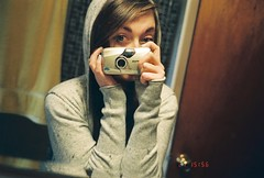 (TORI STEFFEN) Tags: portrait film self 35mm mirror pix sad lol crying olympus boo expired tori hoo steffen epic
