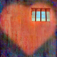 Prisoner of the Heart (qthomasbower) Tags: love trapped day heart mashup cage jail valentines visual prisoner qthomasbower