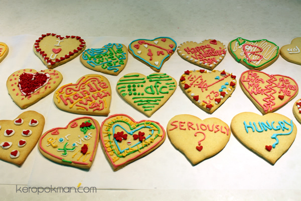 Sugar Cookies - Hearts