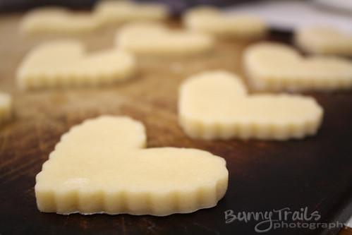 v - cutout cookies