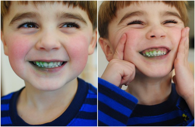 precious michael, my green-toothed valentine