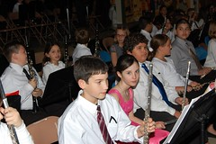 Megan before her concert (HIRH_MOM) Tags: arizona concert flute bandconcert 2011 mybeautifuldaughter schoolbandconcert navajoelementaryschoolbandconcert
