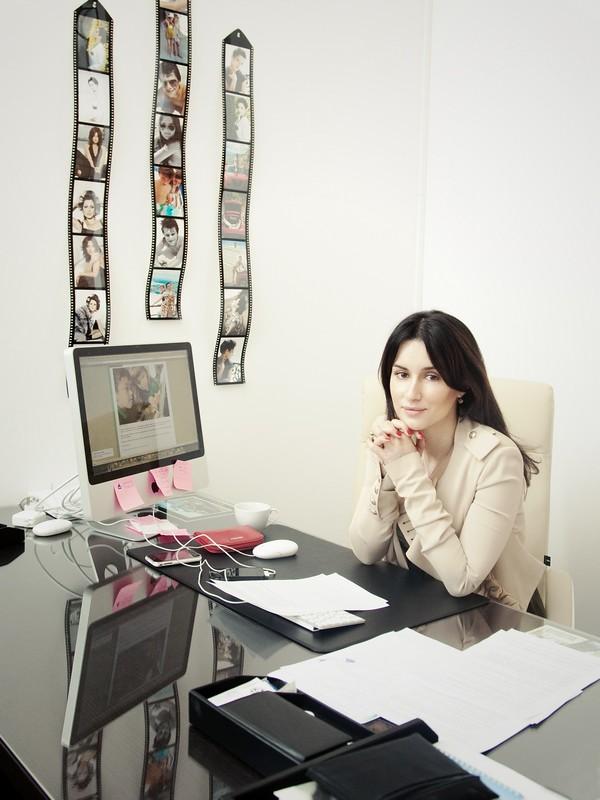 Тина Канделаки даёт интервью