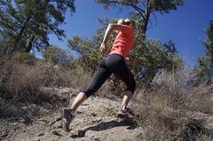 Sprint do kopce - krátce, strmě, rychle