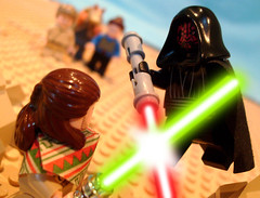 """Go ! Tell them to take off !"" (Ptra) Tags: starwars lego darthmaul legostarwars quigonjinn thephantommenace starwarsepisodei"