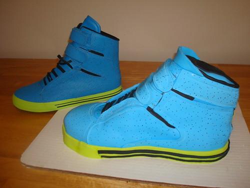 Supra Sneaker Cake