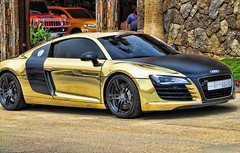 R8 (Saudi To Speed) Tags: cars car speed saudi arabia audi riyadh r8 ksa           8
