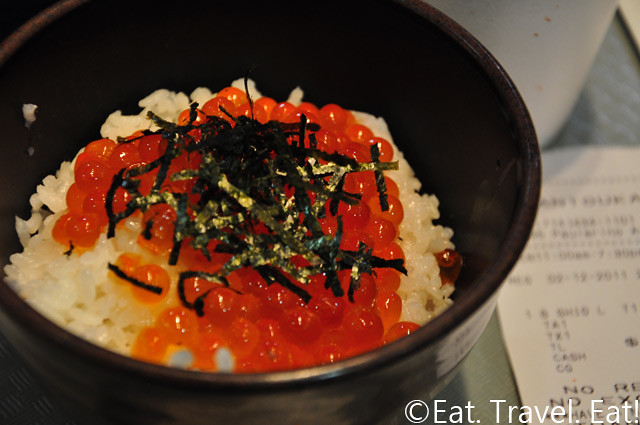 Santouka Ramen Costa Mesa Salmon Roe on Rice