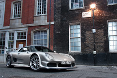 Noblely Waiting. (Alex Penfold) Tags: camera london cars alex sports car night canon silver dark photography lights evening photo cool shoot shot image awesome picture fast super exotic photograph shooting gto supercar numberplate exotica m12 noble supercars penfold 3r 2011 450d hpyer