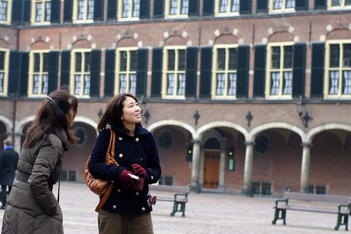 tourists on Binnenhof