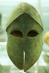 Corinthian Helmet (02) (menickstephensorg) Tags: london museum exhibit stpaulscathedral britishmuseum canoneos5dmk2